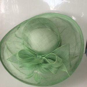 Something special. Green color hat